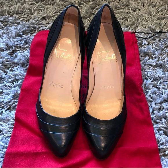 Christian Louboutin Shoes | Used Black